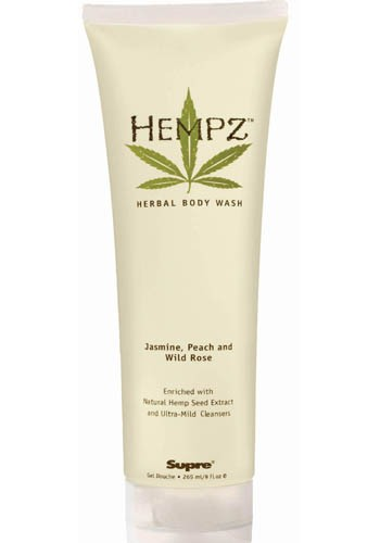 Hempz Body Wash -Jas./ Peach/ W. Rose