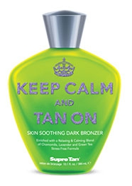 Keep Calm & Tan On Dark Bronzer - лосьон для тела